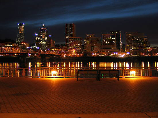 City of Portland Skyline, Oregon